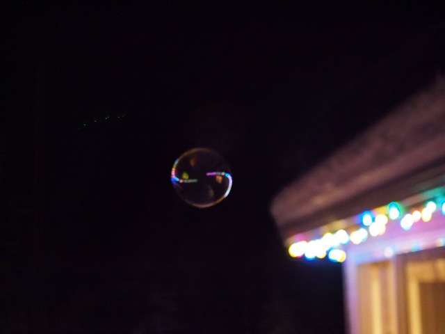 Bubble At Night 1 - ©Kevin Haggkvist