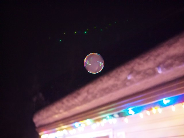 Bubble At Night 2 - ©Kevin Haggkvist
