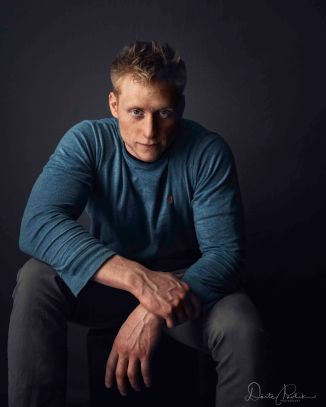 Toby in Blue - Doerte Pavlik