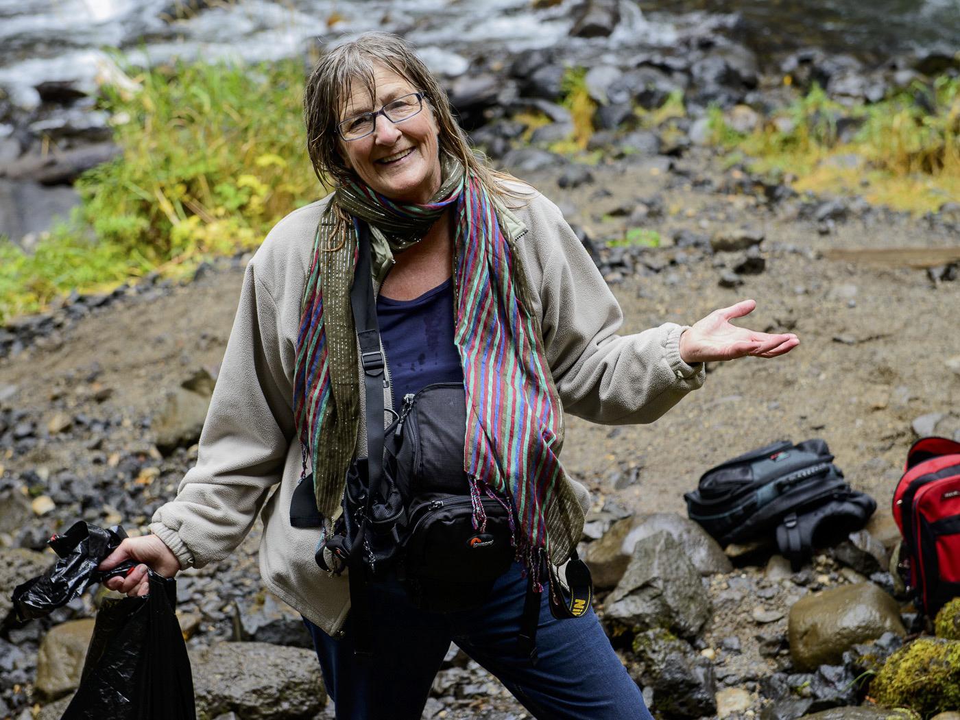 Moul Falls - It Was/Is Wet - Diane Sullivan