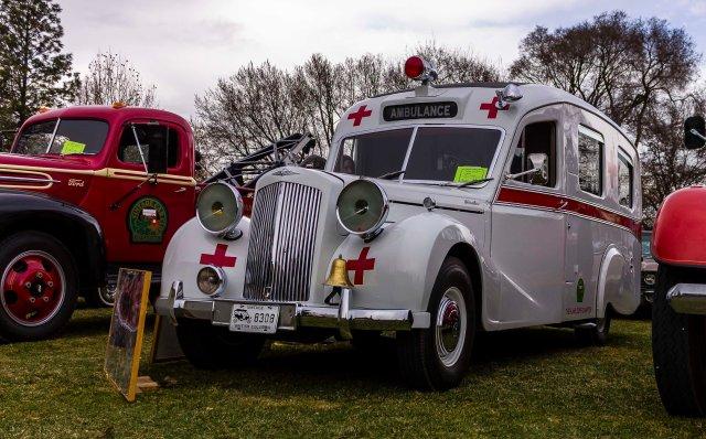 Vintage Ambulance - ©Tamara Isaac
