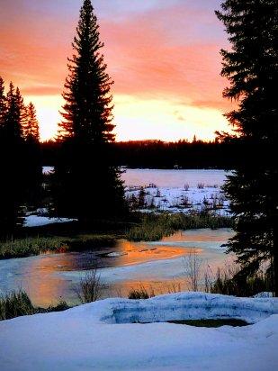 Glorious Sunrise IMG_1393-EFFECTS - Brenda Harvey-Jones