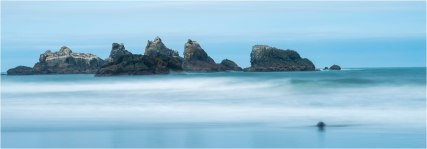 Sea Stacks at Bandon, OR. The seal moved! - Derek Chambers