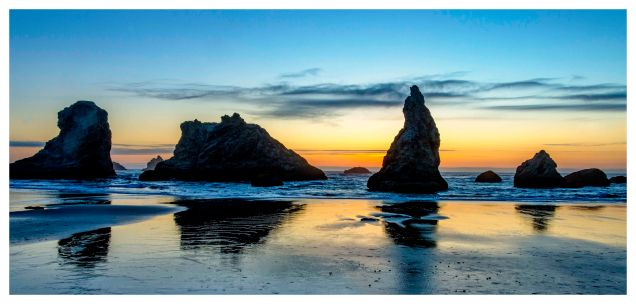 Sunset 1, Bandon Beach, OR - Derek Chambers