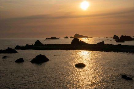 Sunset With Fisherman, Crescent City, CA - Derek Chambers