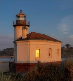 Lighthouse, Coquille River Mouth, Bandon OR - Derek Chambers