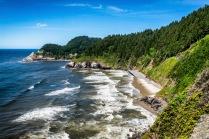 Oregon Coast - Find the seals!