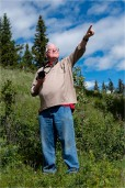 Derek Chambers at Big Bar Provincial Park with Bridge Lake Photo Group - Gloria Melnychuk
