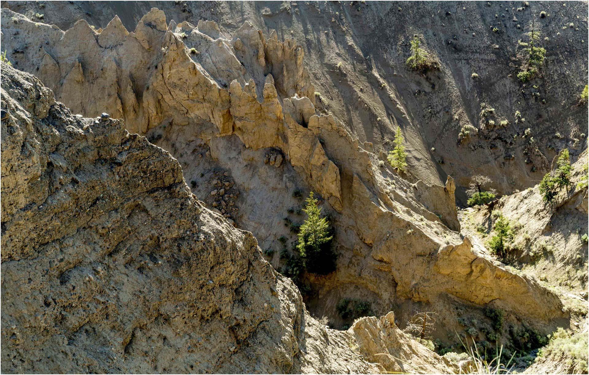 Hoodoos At Farwell Canyon - Derek Chambers