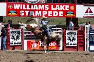 Williams Lake Stampede, Bareback July 2018 - Bill Melnychuk