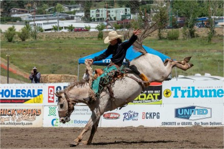 Williams Lake Stampede, Saddlebronc July 2018 - Gloria Melnychuk