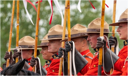 RCMP Musical Ride © Larry Citra