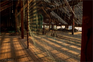 Early Sun Hits The Net Loft - Derek Chambers