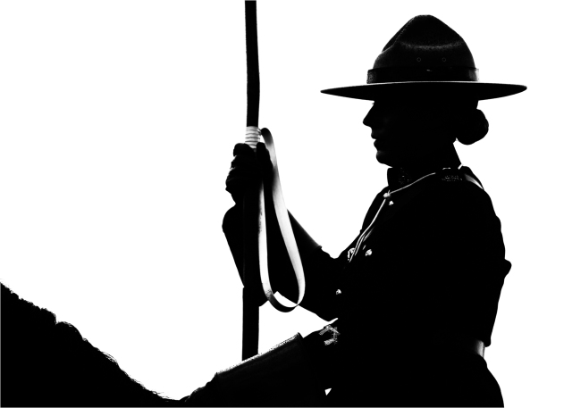 Musical Ride Silhouette - Daryl Bell