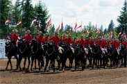 RCMP Musical Ride, Interlakes Rodeo - Bill Melnychuk 7993