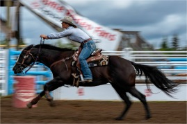Ride with the Wind, Interlakes Rodeo - Gloria Melnychuk 9891