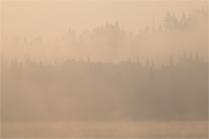 Smoke - Webb Lake - Sharon Jensen