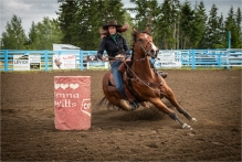 Senior Barrel Racing - Sharon Jensen