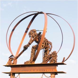 Metal Man, Dawson Creek, BC - William Melnychuk - 8175-067