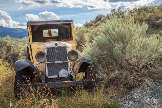 Old Yellow Truck - Sharon Jensen