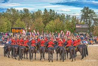 RCMP Musical Ride-the Dome