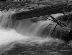 The Log Jam Waterfall - Eakin Creek Canyon PP - Derek Chambers
