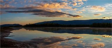 Beyond the Blue at Boya Lake - Gloria Melnychuk