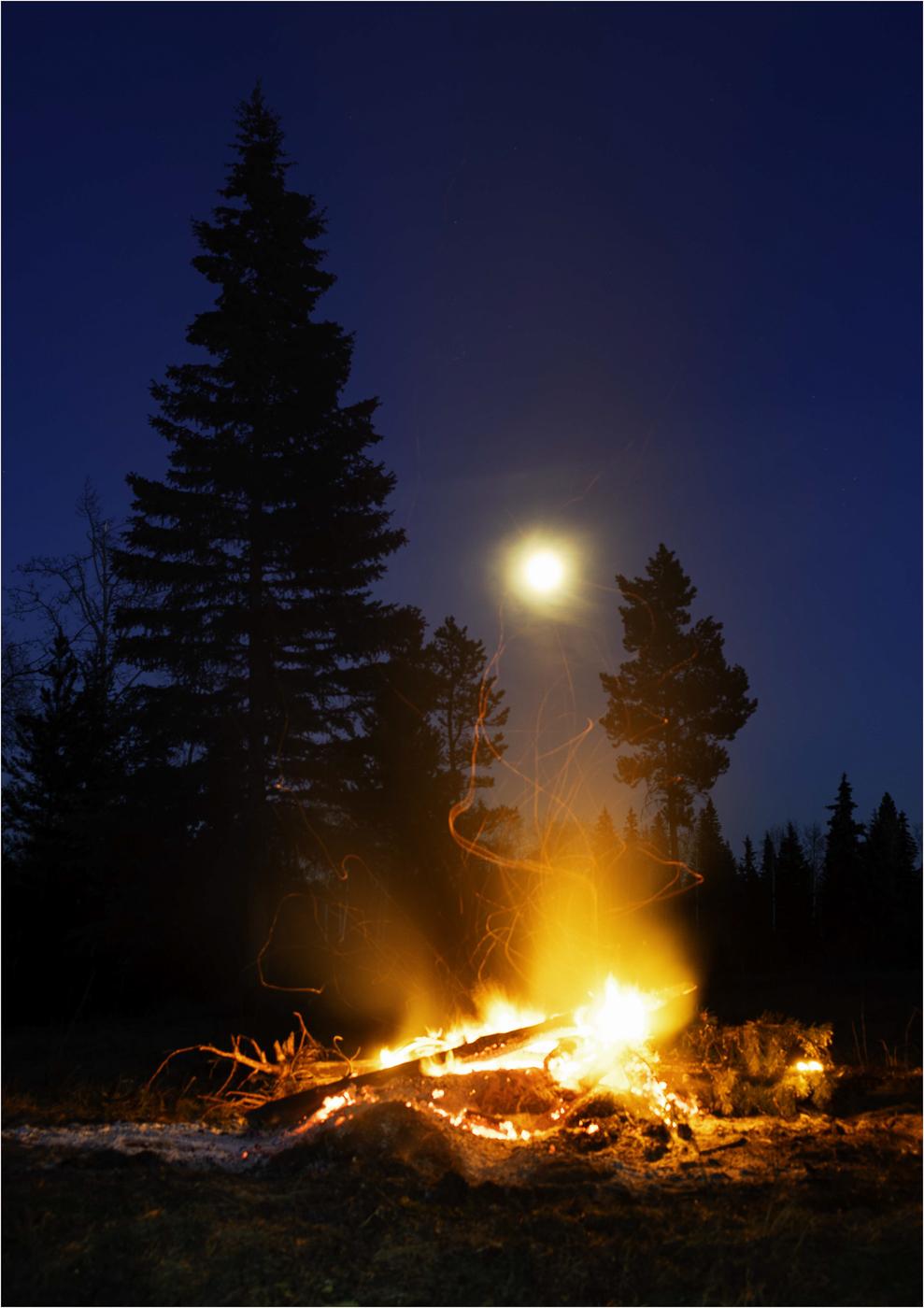Moonlight and Firelight