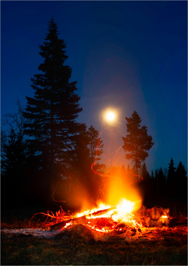 Moonlight and Firelight