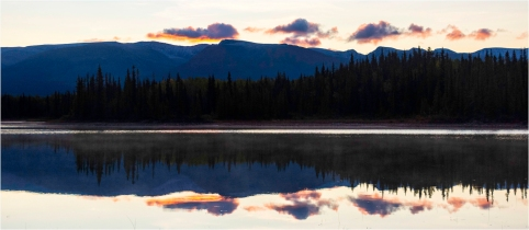 Reflections at dawn, Boya Lake - Bill Melnychuk.jpg