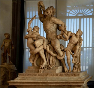 Laocoön and His Sons, a copy by Baccio Bandinelli, of a Greek statue unearthed in Rome in 1506. - Derek Chambers