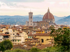 Duomo and Giotto's Campanile - Florence