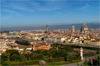 Florence from Piazzale Michael Angelo - Derek Chambers