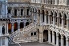 Inside the courtyard of the Ducale Palazzo, Venezia - Derek Chambers