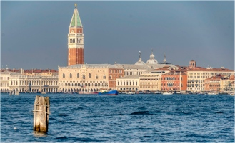 San Marco - Campanelle and Ducale Palace, Venice - Derek Chambers