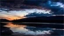 The Awakening, Dawn at Boya Lake - Gloria Melnychuk