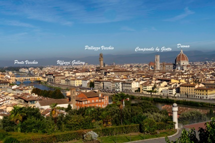 The Major Sites of Florence - Derek Chambers