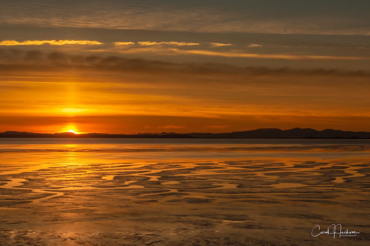 Mud Bay Sunset-CJJ
