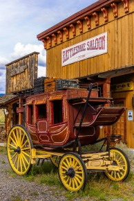 Who wants to ride shotgun? - Skeetchestn Old West Ghost Town - Tamara Isaac