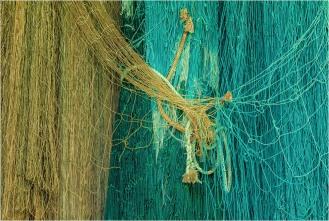 Fish Nets-Tallheo Cannery-Bella Coola - © - Sharon Jensen