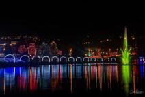 Lights At Lafarge Lake - Carol Jackson