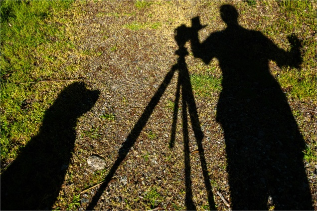Photographer and his Dog © Larry Citra