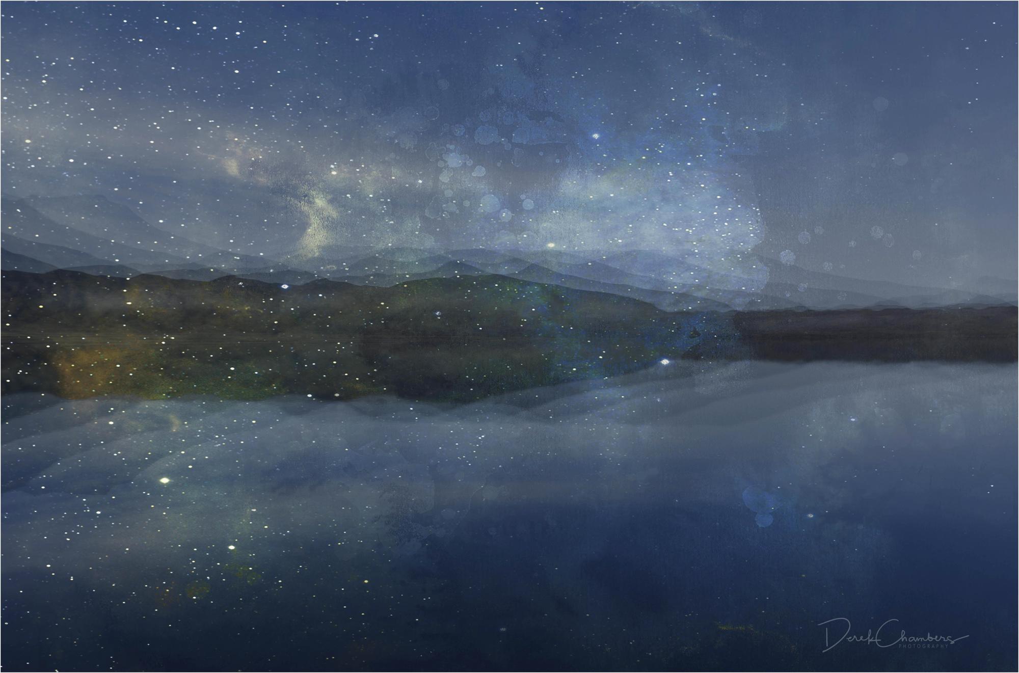 Frostastaðavatn, Iceland Abstract - Derek Chambers