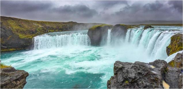Godafoss, Iceland iPhone Pano - Derek Chambers
