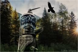 Land of Totem and Raven - Gloria Melnychuk