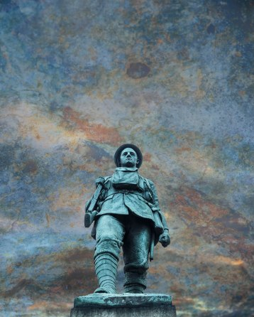 Statue on another planet - Derek Chambers