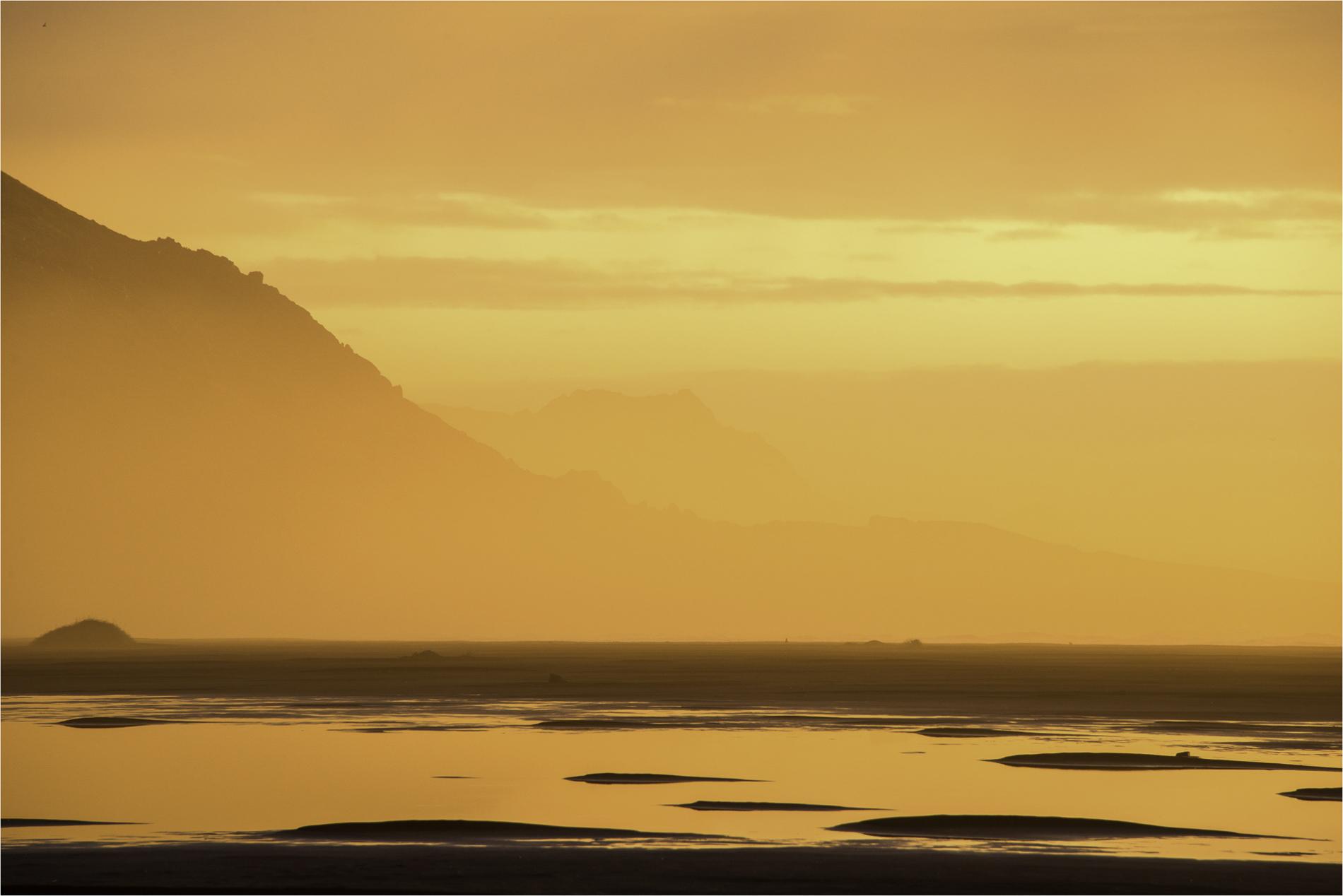 © Larry Citra - Vesturhorn Sunrise, Iceland