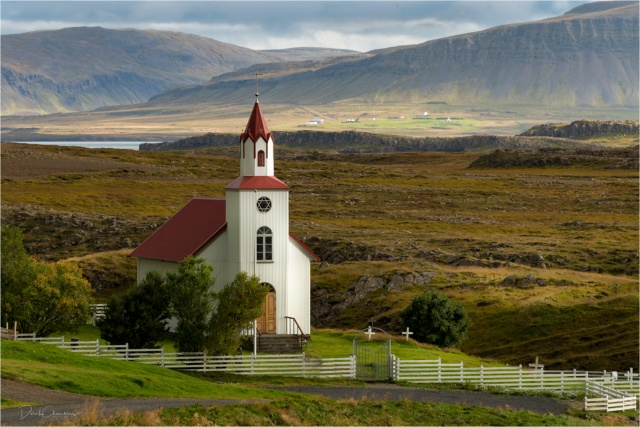 Icelandic Church V2 - Derek Chambers
