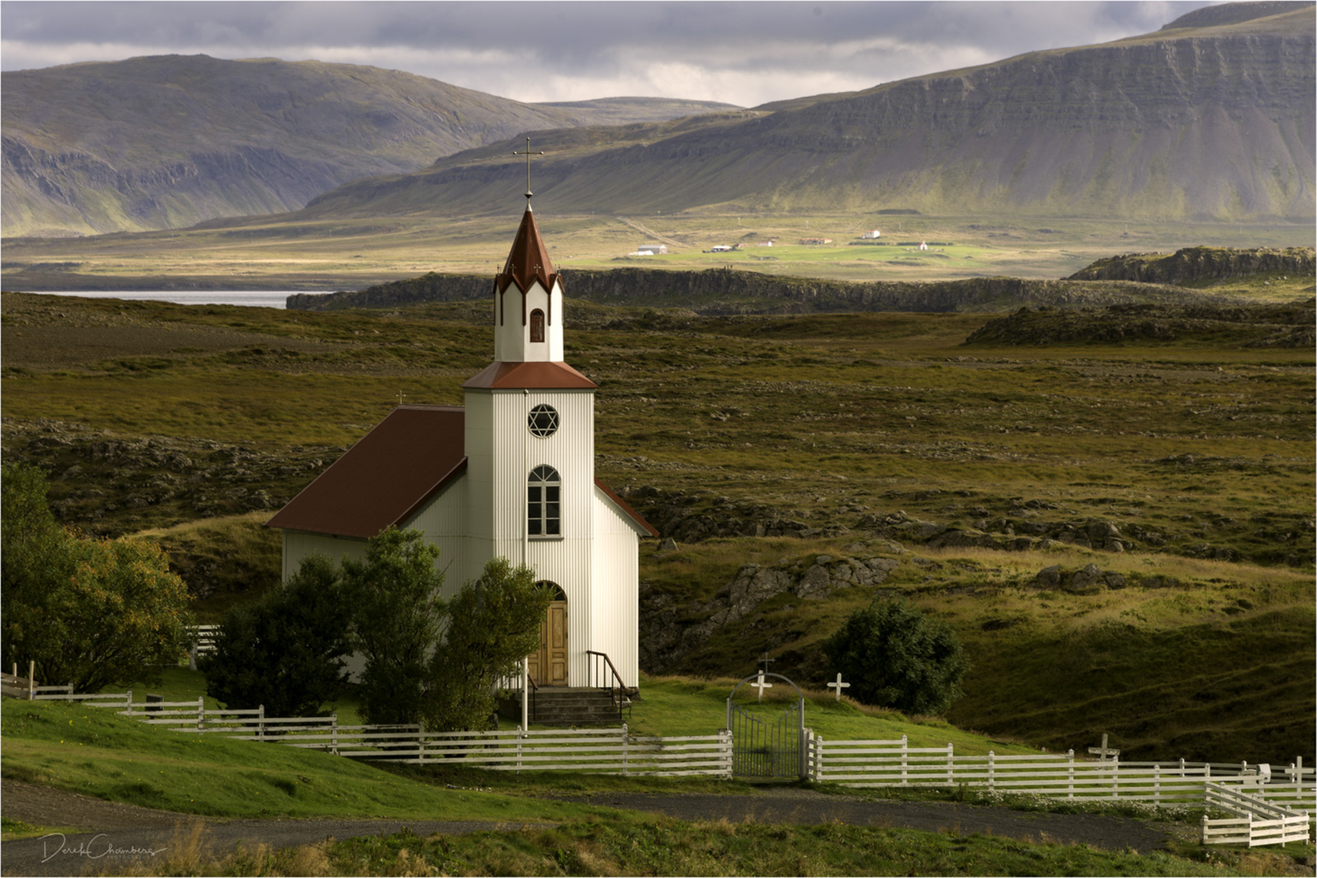 Icelandic Church V1 - Derek Chambers