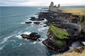 Londranger Cliffs, Iceland - Derek Chambers